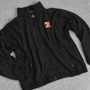 Black Zipper Fleece