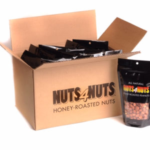 Honey Roasted Peanuts 16oz party pack