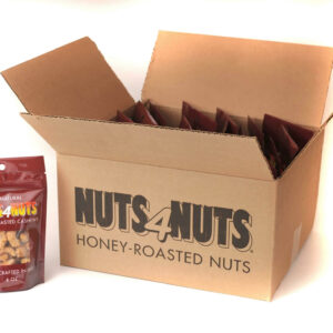 Honey-Roasted Cashews 4oz party pack