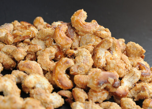 Honey-Roasted Cashews