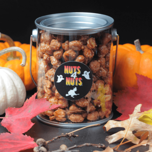 Honey-Roasted Peanuts in a 16 0z Halloween Gift Tin