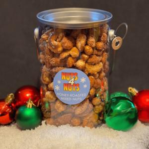 Holiday Roasted Mixed Nuts